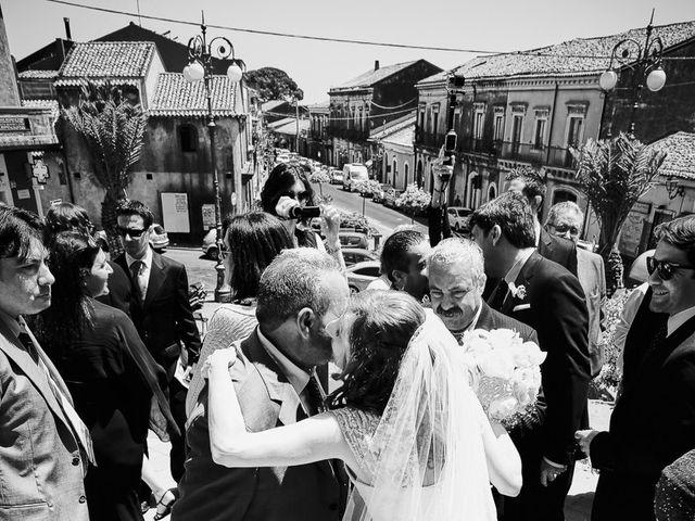 Il matrimonio di Andrea e Francesca a Pedara, Catania 15