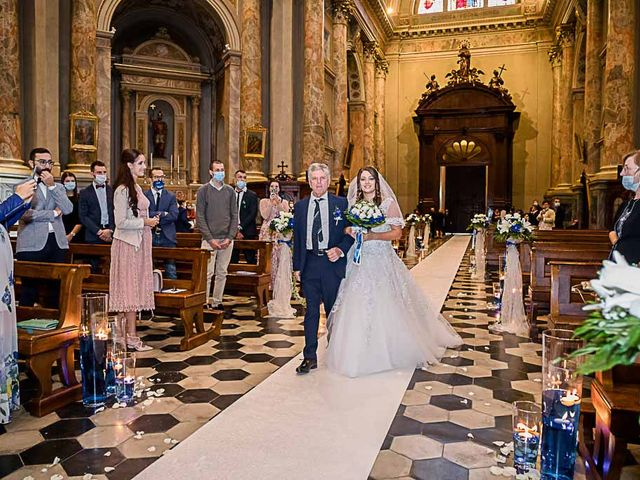 Il matrimonio di Marco e Raffaella a Mapello, Bergamo 34