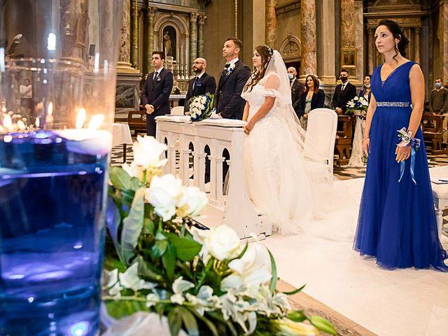 Il matrimonio di Marco e Raffaella a Mapello, Bergamo 36