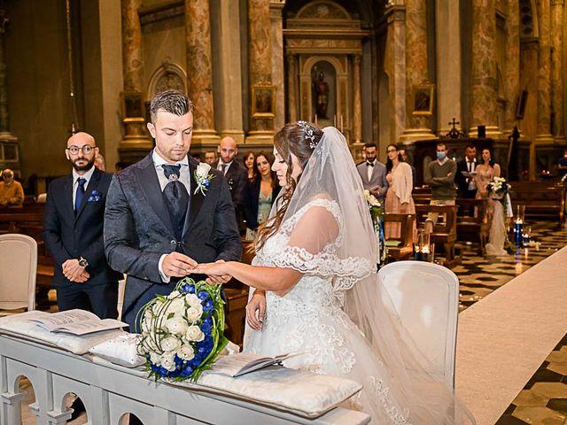 Il matrimonio di Marco e Raffaella a Mapello, Bergamo 39