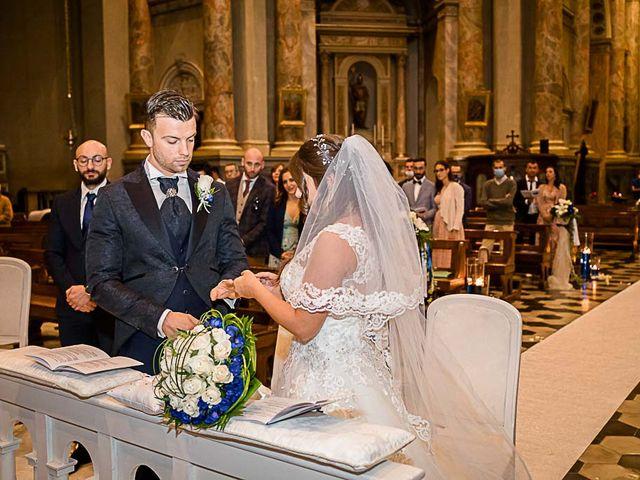 Il matrimonio di Marco e Raffaella a Mapello, Bergamo 40