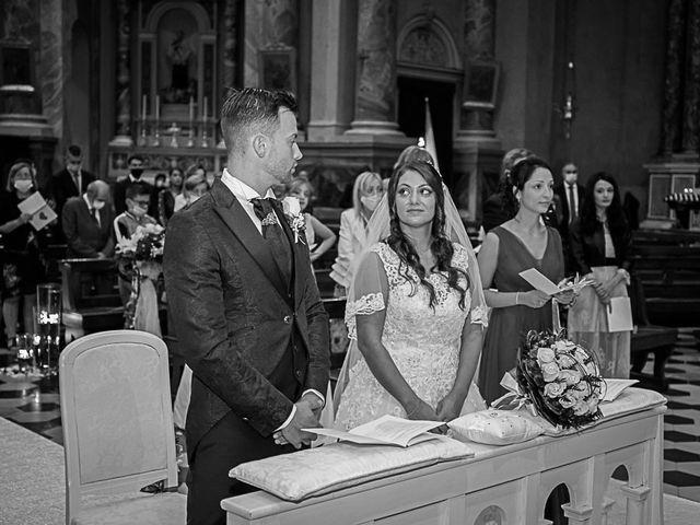 Il matrimonio di Marco e Raffaella a Mapello, Bergamo 41