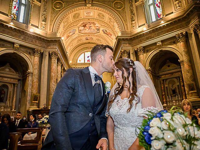 Il matrimonio di Marco e Raffaella a Mapello, Bergamo 45