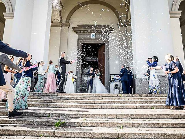 Il matrimonio di Marco e Raffaella a Mapello, Bergamo 47