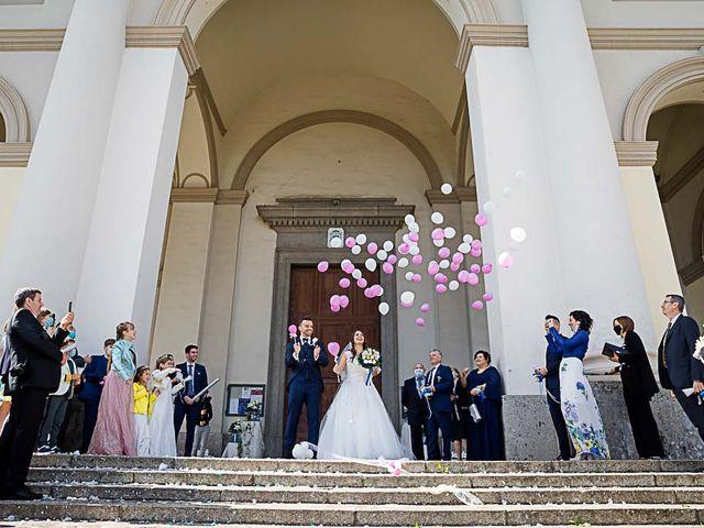 Il matrimonio di Marco e Raffaella a Mapello, Bergamo 48