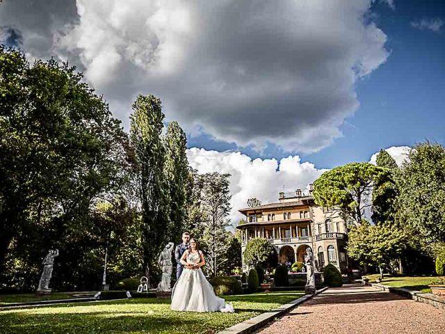 Il matrimonio di Marco e Raffaella a Mapello, Bergamo 62