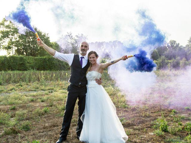 le nozze di Paola e Mirco