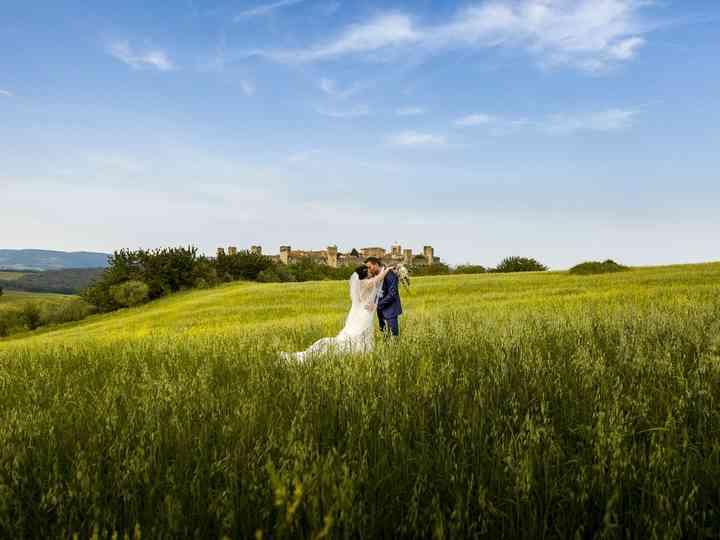 Le nozze di Sandra e Adriano