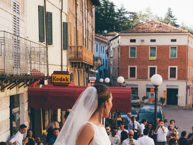 Il matrimonio di Massimo e Francesca a Mercato Saraceno, Forlì-Cesena 12
