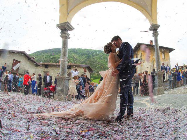 Il matrimonio di Claudio e Deborah a Cerete, Bergamo 30
