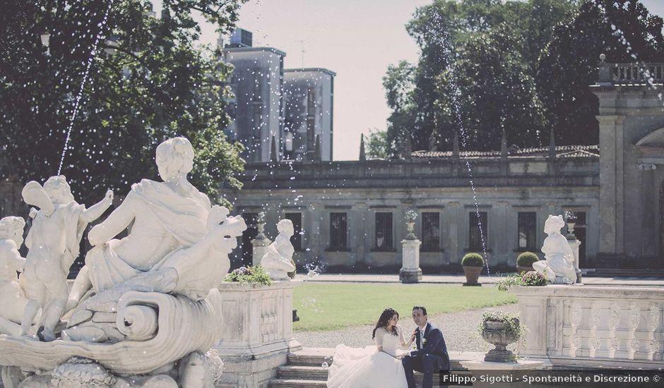 Il matrimonio di Sergio e Caterina a Lainate, Milano