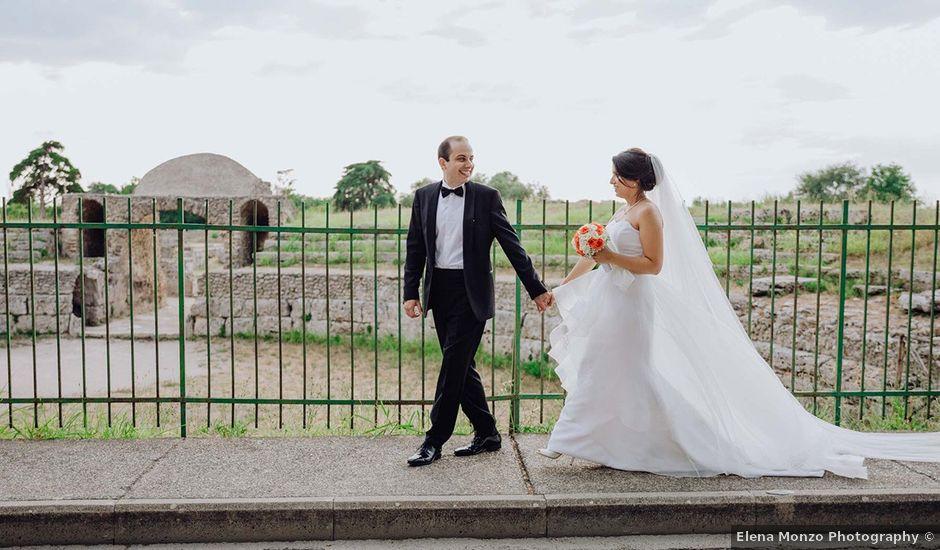 Il matrimonio di Egidio e Silvia a Capaccio Paestum, Salerno