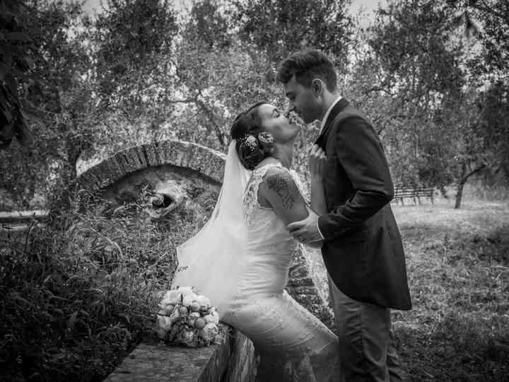 le nozze di Cheyenne e Giacomo