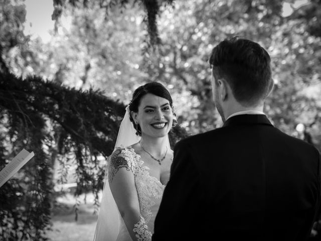Il matrimonio di Giacomo e Cheyenne a Graffignano, Viterbo 22