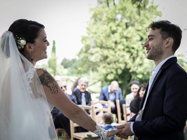 Il matrimonio di Giacomo e Cheyenne a Graffignano, Viterbo 23