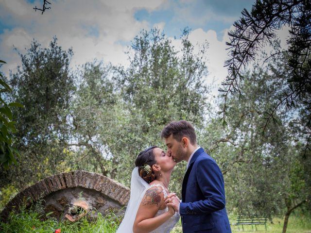Il matrimonio di Giacomo e Cheyenne a Graffignano, Viterbo 36