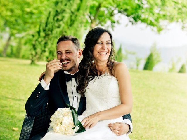 le nozze di Federico e Daniela