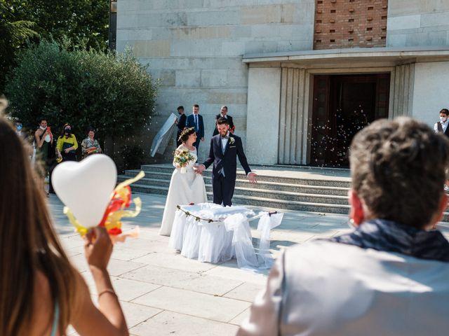 Il matrimonio di Mattia e Marianna a Venezia, Venezia 68