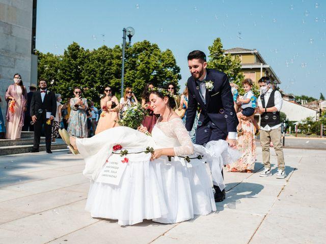 Il matrimonio di Mattia e Marianna a Venezia, Venezia 69