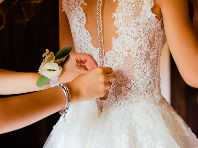 Il matrimonio di Leonardo e Viviana a Mossa, Gorizia 5
