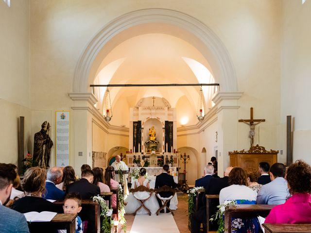 Il matrimonio di Leonardo e Viviana a Mossa, Gorizia 13