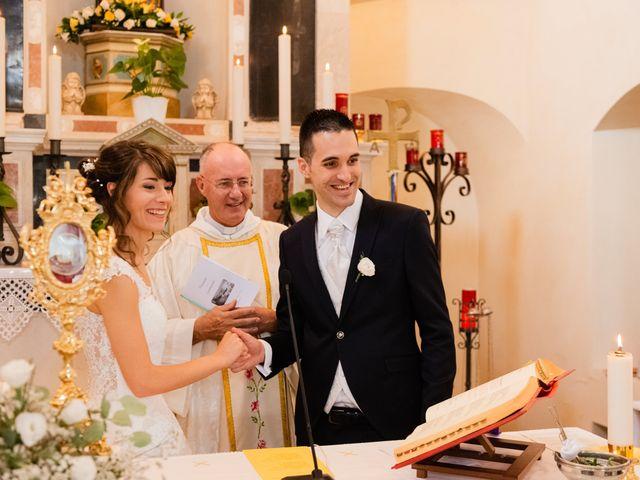 Il matrimonio di Leonardo e Viviana a Mossa, Gorizia 14