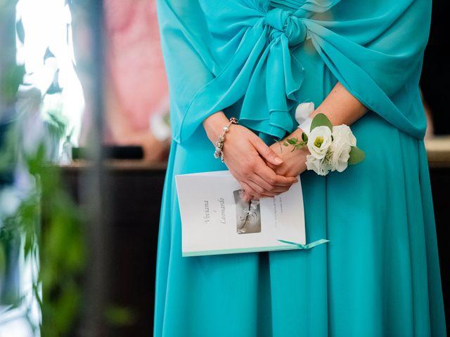 Il matrimonio di Leonardo e Viviana a Mossa, Gorizia 15