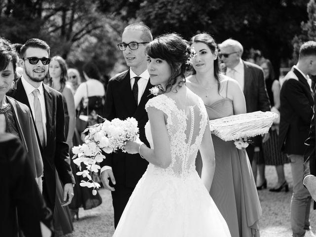 Il matrimonio di Leonardo e Viviana a Mossa, Gorizia 17