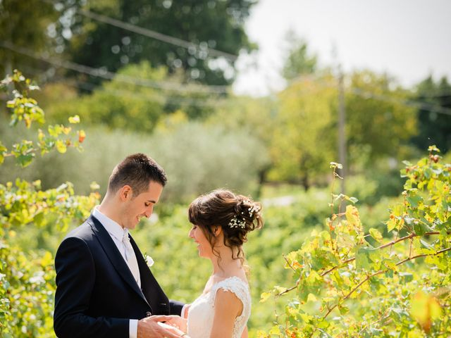 Il matrimonio di Leonardo e Viviana a Mossa, Gorizia 20