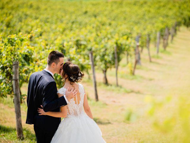 Il matrimonio di Leonardo e Viviana a Mossa, Gorizia 21