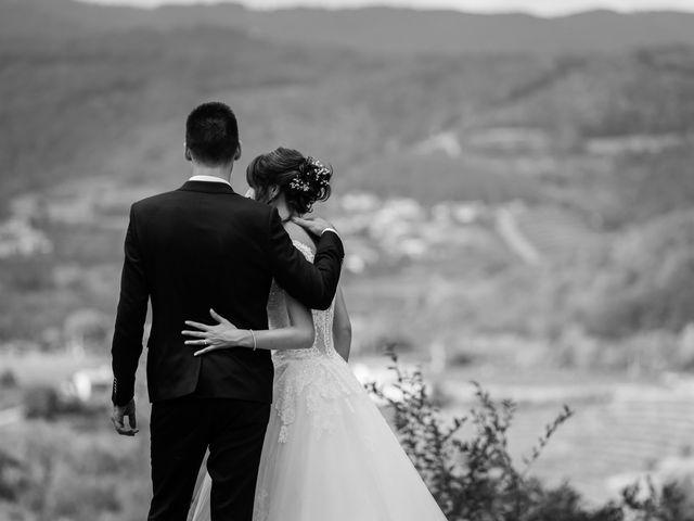 Il matrimonio di Leonardo e Viviana a Mossa, Gorizia 28
