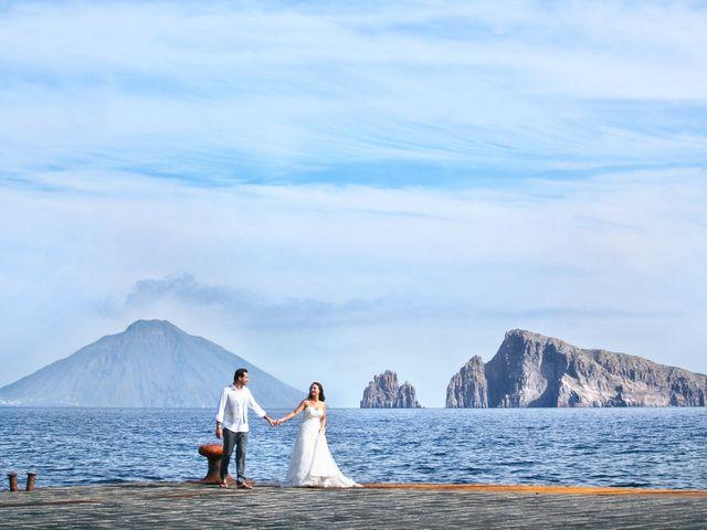 Il matrimonio di Antonella e Luca a Stromboli, Messina 12