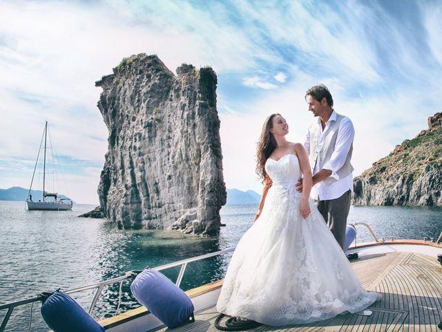 Il matrimonio di Antonella e Luca a Stromboli, Messina 14
