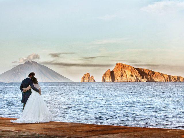Il matrimonio di Antonella e Luca a Stromboli, Messina 65