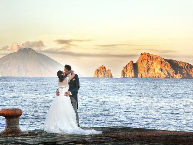 Il matrimonio di Antonella e Luca a Stromboli, Messina 68