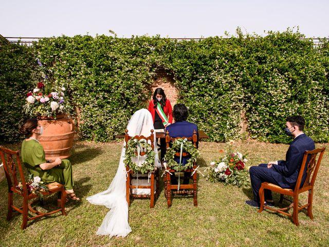 Il matrimonio di Tommaso e Margherita a Certaldo, Firenze 6