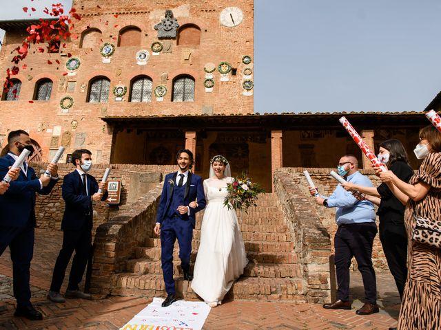 Il matrimonio di Tommaso e Margherita a Certaldo, Firenze 13
