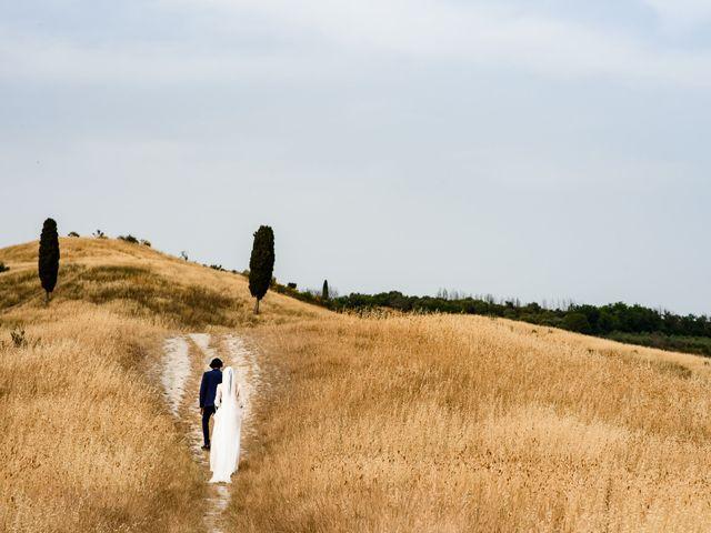 Il matrimonio di Tommaso e Margherita a Certaldo, Firenze 2