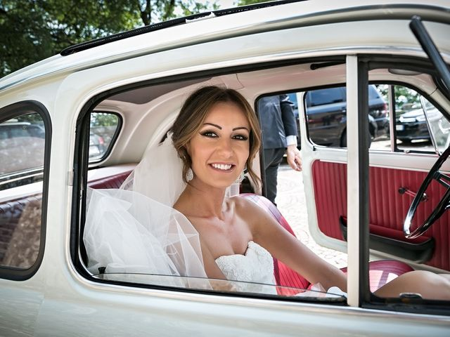 Il matrimonio di Daniele e Isabella a Rodengo-Saiano, Brescia 14