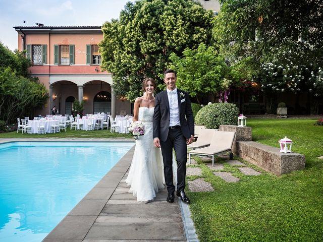 Il matrimonio di Daniele e Isabella a Rodengo-Saiano, Brescia 18