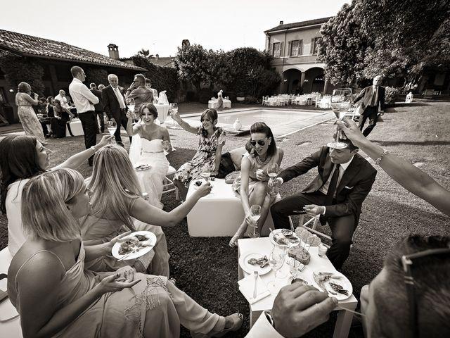 Il matrimonio di Daniele e Isabella a Rodengo-Saiano, Brescia 35