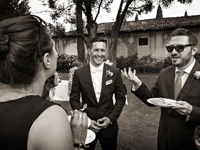 Il matrimonio di Daniele e Isabella a Rodengo-Saiano, Brescia 36
