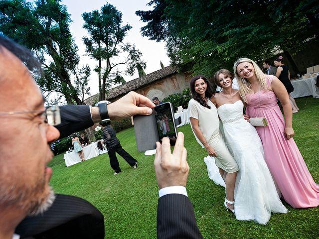 Il matrimonio di Daniele e Isabella a Rodengo-Saiano, Brescia 41