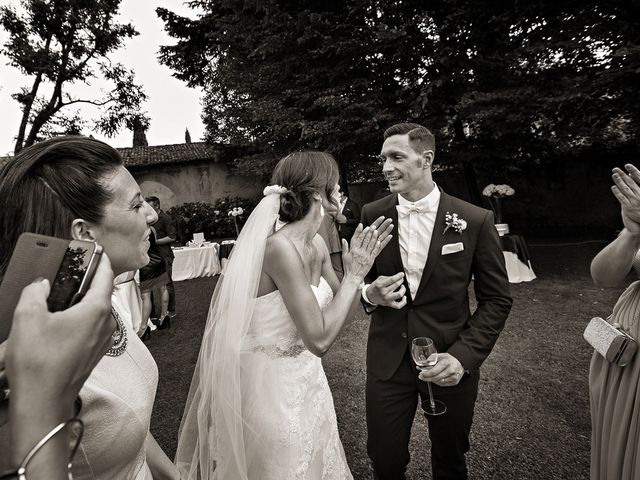 Il matrimonio di Daniele e Isabella a Rodengo-Saiano, Brescia 42