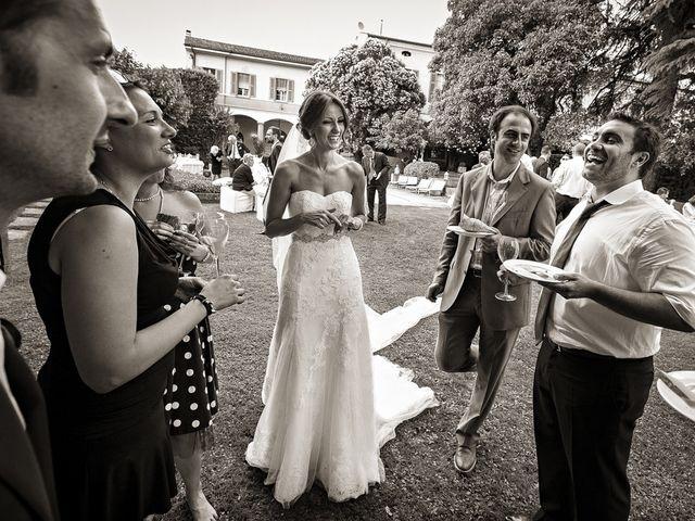 Il matrimonio di Daniele e Isabella a Rodengo-Saiano, Brescia 43