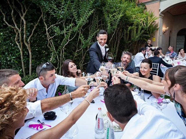Il matrimonio di Daniele e Isabella a Rodengo-Saiano, Brescia 49