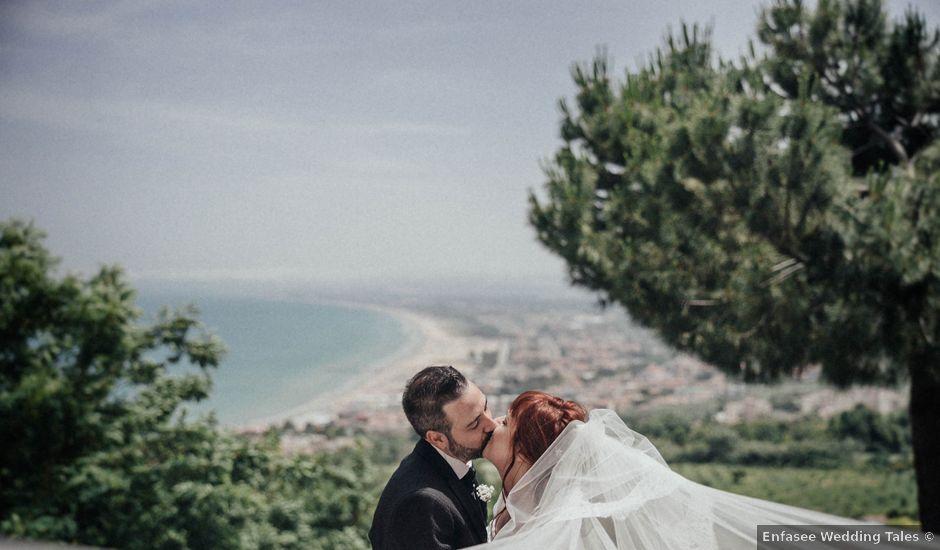 Il matrimonio di Giovanni e Francesca a Vasto, Chieti
