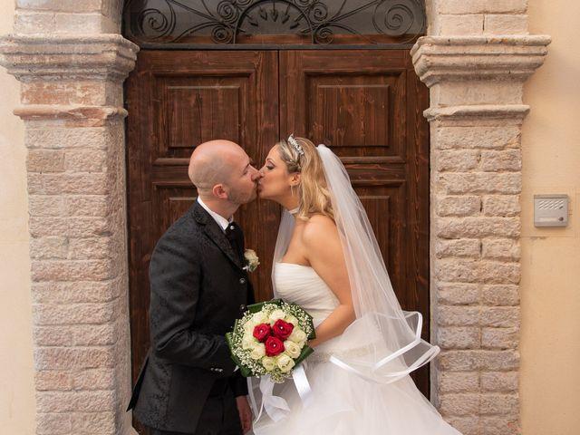 le nozze di Myriam e Pierluigi