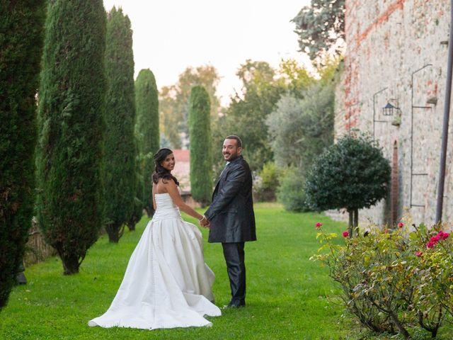 le nozze di Giulia e Luciano
