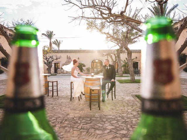 Il matrimonio di Nico e Anne a Marsala, Trapani 80